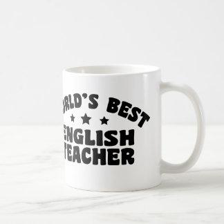 World's Best English Teacher Coffee Mug