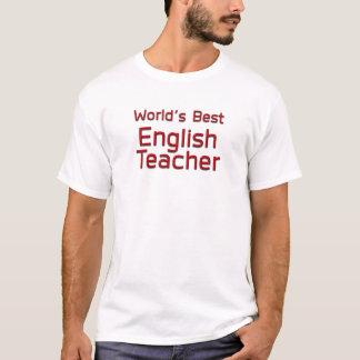 World's Best English Teacher T-Shirt