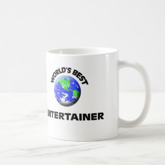 World's Best Entertainer Classic White Coffee Mug