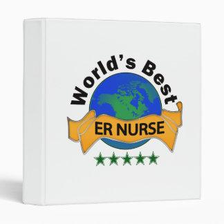 World's Best ER Nurse Binder