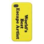 World's Best Escape Artist Cover For iPhone 4