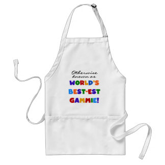 World's Best-est Gammie T-shirts and Gifts Adult Apron