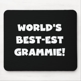 World's Best-est Grammie White T-shirts and Gifts Mouse Pad
