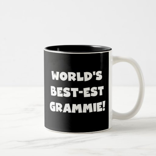World's Best-est Grammie White T-shirts and Gifts Two-Tone Coffee Mug