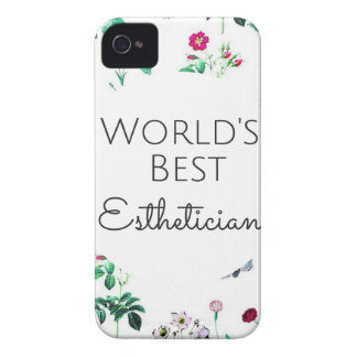 World's Best Esthetician gift 4 iPhone 4 Cover