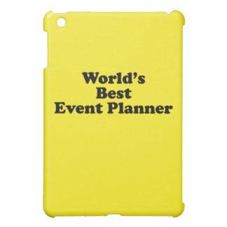 World's Best Event Planner iPad Mini Cover