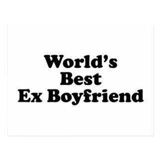 World's Best Ex Boyfriend Postcard