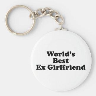 World's Best Ex Girlfriend Basic Round Button Keychain