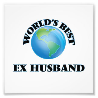 World's Best Ex-Husband Photo Print