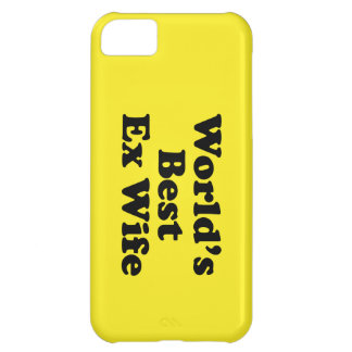 World's Best Ex Wife Case For iPhone 5C