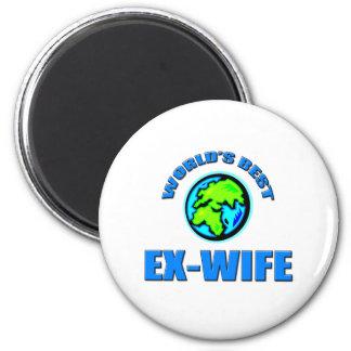 World's Best Ex-Wife 2 Inch Round Magnet