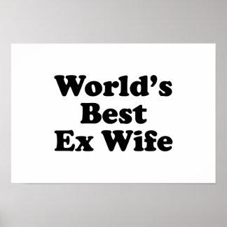 World's Best Ex Wife Poster