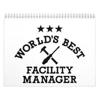 World's best Facility Manager Calendar