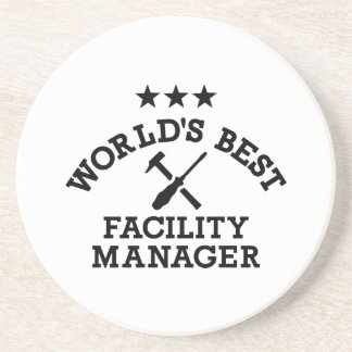 World's best Facility Manager Beverage Coasters