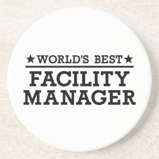 World's best Facility Manager Coasters