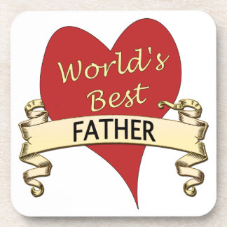World's Best Father Coaster