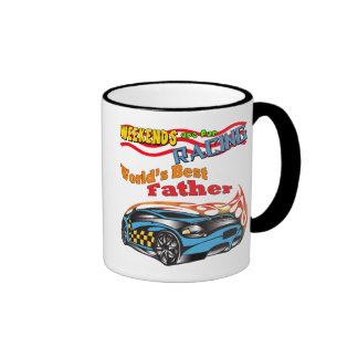 World's Best Father Father's Day Gift Ringer Coffee Mug