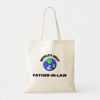 World's Best Father-In-Law Canvas Bag