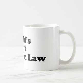 World's Best Father In Law Coffee Mug