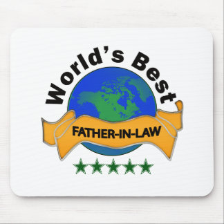 World's Best Father-In-Law Mouse Pad