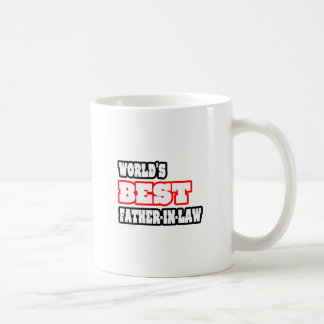 World's Best Father-In-Law Classic White Coffee Mug