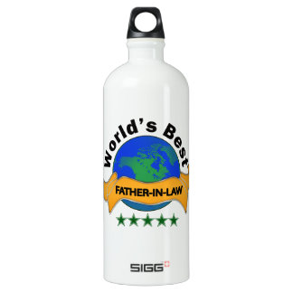 World's Best Father-In-Law SIGG Traveler 1.0L Water Bottle