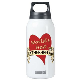 World's Best Father-In-Law Thermos Water Bottle