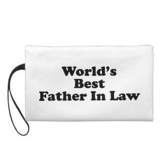 World's Best Father In Law Wristlet Purse