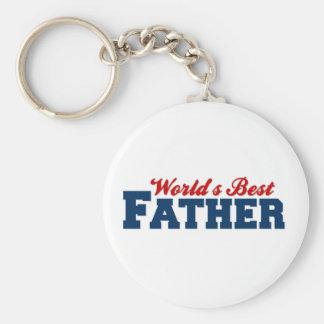 Worlds Best Father Keychain