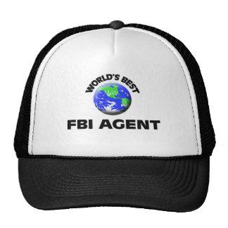 World's Best Fbi Agent Hat