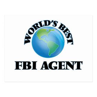 World's Best Fbi Agent Postcards