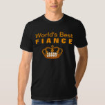 World's Best FIANCE Vintage Gold Crown A12 Shirt