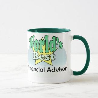 World's best Financial Advisor Mug