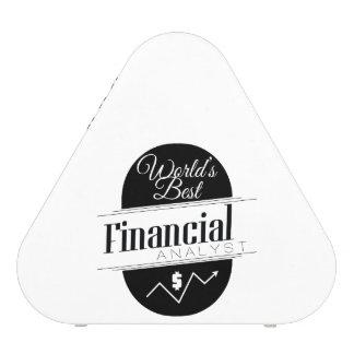 World's Best Financial Analyst Bluetooth Speaker