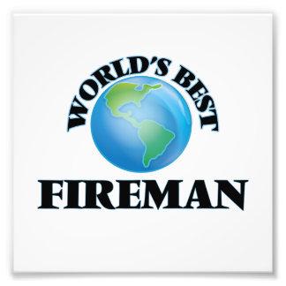 World's Best Fireman Photograph