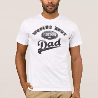 World's Best Fisherman & Dad T-Shirt