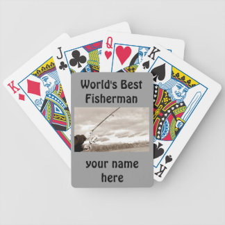 **WORLD'S BEST FISHERMAN** PLAYING CARDS