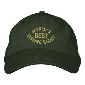 Worlds Best Fishing Buddy Embroidered Baseball Hat