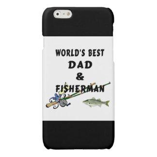 Worlds Best Fishing Dad Matte iPhone 6 Case