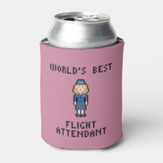 World's Best Flight Attendant Can Cooler