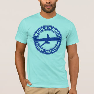 World's Best Flight Instructor T-Shirt