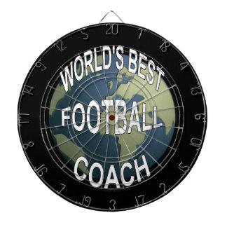 World's Best Football Coach Dartboard