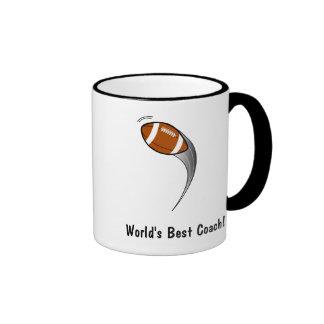 World's Best Football Coach Coffee Mugs