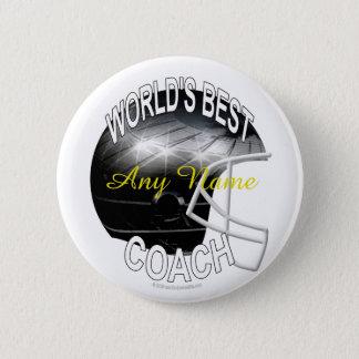 World's Best Football Coach Pinback Button