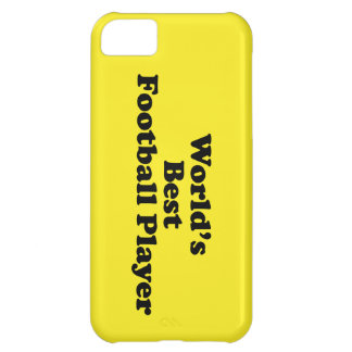 World's Best Football Player Case For iPhone 5C