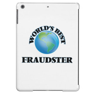World's Best Fraudster iPad Air Case