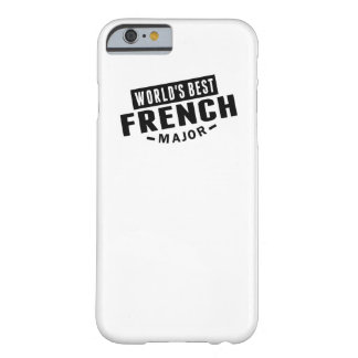 World's Best French Major Barely There iPhone 6 Case