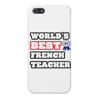 World's Best French Teacher iPhone 5 Cases