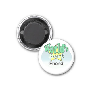 World's best friend magnet