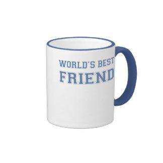 Worlds Best Friend Ringer Mug